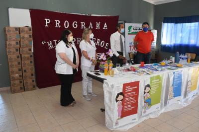 """El programa """"Mis primeros 1700 días"""" asistió a mujeres y niños de Loreto"""