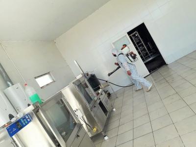 Desinfectan el edificio municipal y planta potabilizadora en Colonia Dora