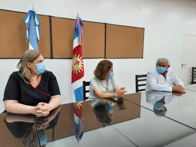 En Santiago del Estero, evaluaron la marcha de la primera etapa de vacunación contra Covid-19