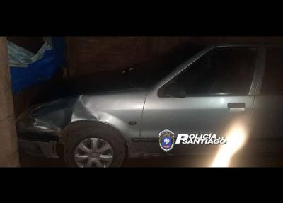 Forres: conductor de automóvil, chocó y dejó abandonadas y lesionadas a una joven y su hija