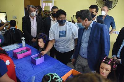 El ministro de Desarrollo Social de la Nación, Daniel Arroyo visitó la provincia