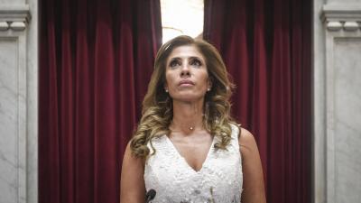 La senadora Claudia Ledesma de Zamora fue ratificada como Presidenta Provisional del Senado de la Nación