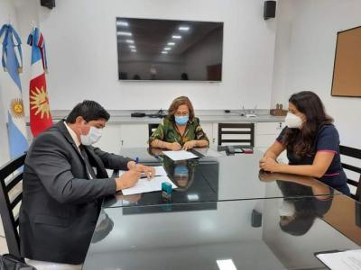 El Comisionado de Taboada firmó un convenio con el Ministerio de salud para la puesta en funcionamiento del nuevo Centro Asistencial
