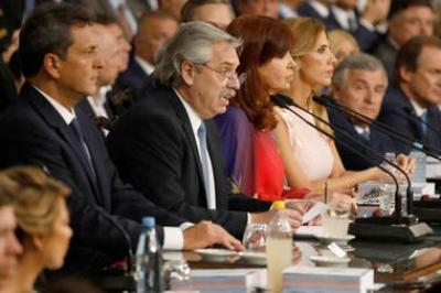 El presidente Alberto Fernández anunció una querella criminal contra los endeudadores macristas