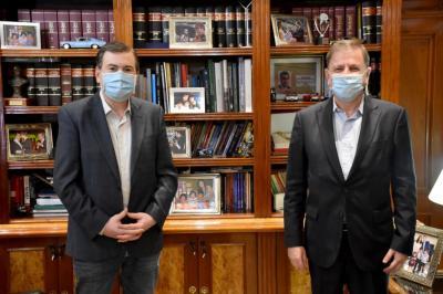 El Gobernador recibió a Eduardo Zuain, designado oficialmente embajador ante la Federación Rusa