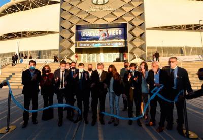 Fecha histórica: El Estadio Único de Santiago del Estero quedó inaugurado