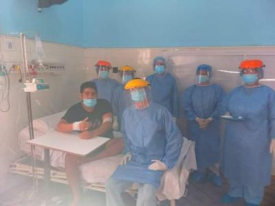 Ayer sábado confirmaron 3 contagiados de coronavirus en Garza