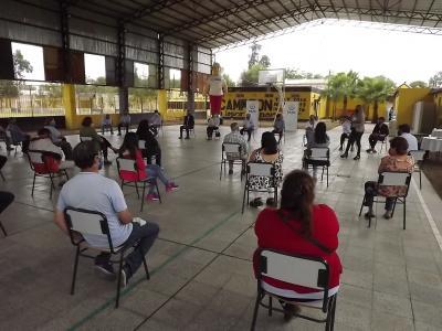 Centros de jubilados nacionales del departamento Robles participaron de una capacitación