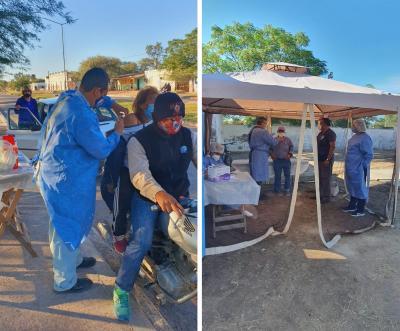 Pobladores de Garza y Brea Pozo recibieron la vacuna contra el coronavirus