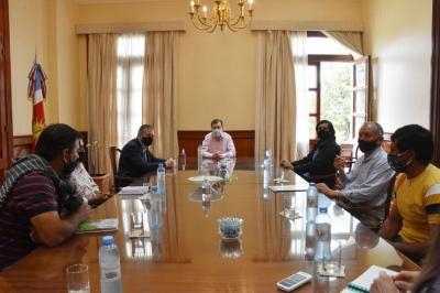 Integrantes del MoCaSe  y Productores Familiares fueron recibidos por el Gobernador Zamora