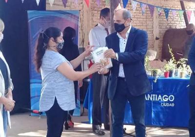 Lanzaron el programa Pro-Huerta en Santiago del Estero
