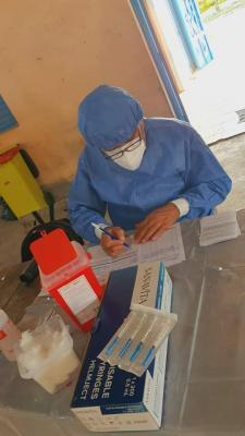 Este lunes confirmaron 2 nuevos casos en Fernández, 1 en Villa Robles y 1 en Colonia El Simbolar