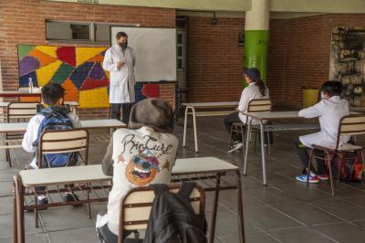 La justicia federal ordenó suspender las clases en la Ciudad de Buenos Aires