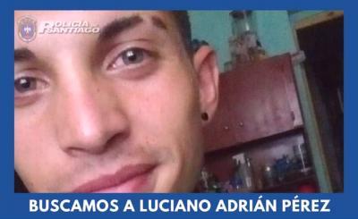 Jóven de Fernández es intensamente buscado por la policía