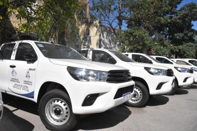 El gobierno provincial hizo entrega de vehículos a la Subsecretaria de Defensa Civil