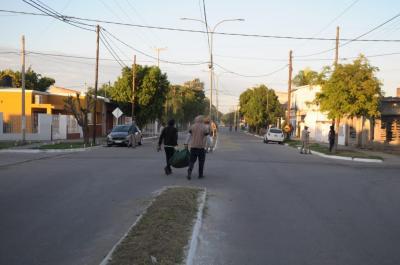 Desplegaron un importante operativo de limpieza en distintos puntos de la ciudad