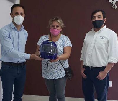 Continúa desarrollándose la campaña de concientización sobre el uso del casco