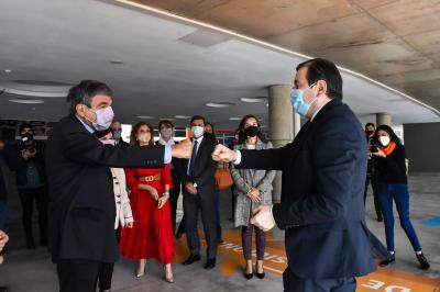 El ministro de Ciencia, Tecnología e Innovación de la Nación, Dr. Roberto Salvarezza visitó la provincia
