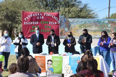 """Lanzan el Programa """"Mis Primeros 1700 días"""" en localidad de Abra Grande"""