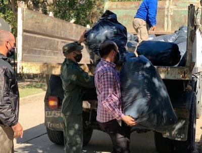 Donaron mercadería secuestrada por Gendarmería a familias de los sectores más vulnerables