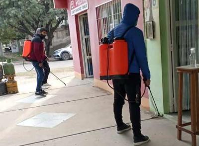 Beltrán: cierran por dos días las oficinas de rentas municipal por desinfección