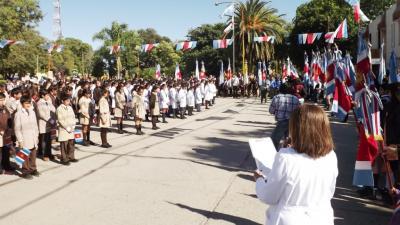 Fernández conmemoró la autonomía Santiagueña