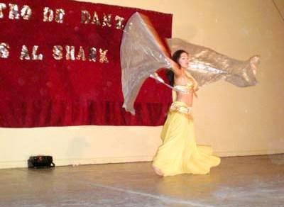 Dictarán clases de danzas árabes en Fernández