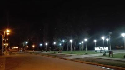 Beltrán: Realizan mejoras en el  sistema lumínico