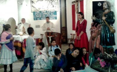 Forres: El obispo Bokalic ofició la misa en honor a San Isidro Labrador