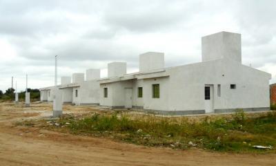 Construyen 23 viviendas en el barrio Cooperativa de Fernández
