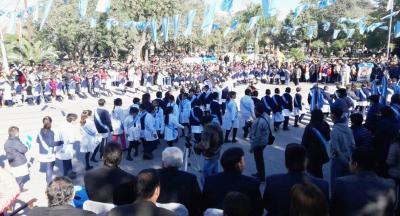 Niños de Fernández realizaron la Promesa de Lealtad