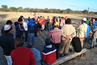 El Gobierno Provincial llegó a Los Pereyra con el deporte