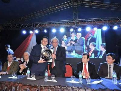 El senador Zamora presidió los festejos en Forres