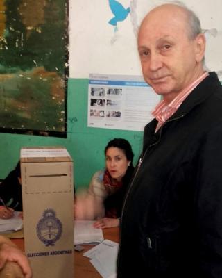 El Diputado provincial Rubén Blázquez emitió su voto