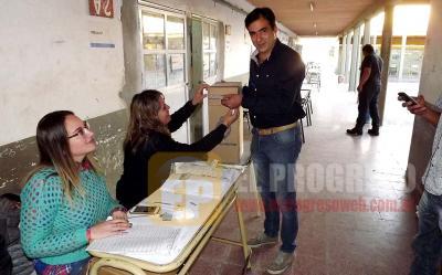 """Ariel Matarazzo: """"hoy es un día trascendental para la democracia"""""""