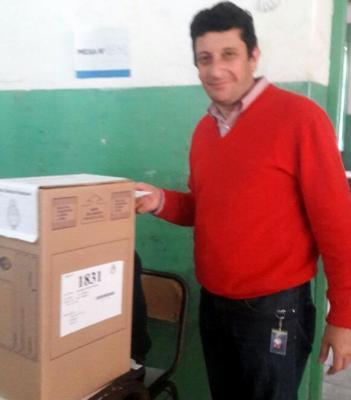 Garavaglia emitió el voto en la Octavio Gauna