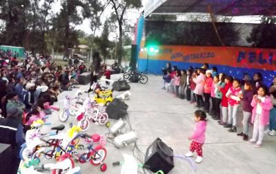 Los niños de Fernández tendrán su fiesta este Domingo 27
