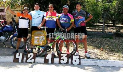 Ciclismo: Moyano volvió a ganar y lidera el campeonato Termense
