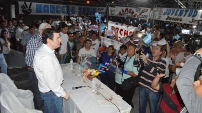 Multitudinario plenario del Frente Cívico en Añatuya