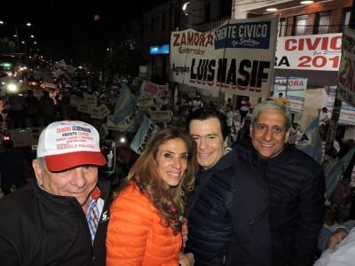 Zamora: 'Estamos muy agradecidos por el gran triunfo'
