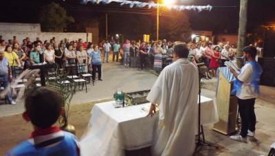 Fieles de Fernández veneraron la Inmaculada Concepción de María