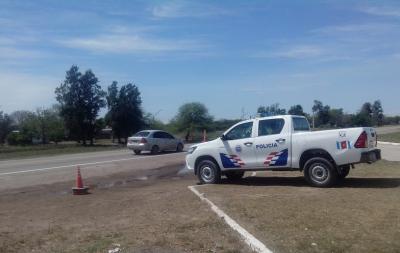 Conductor oriundo de Fernández demorado por conducir ebrio en la ruta 34