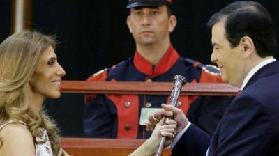 En una emocionante ceremonia asumió Gerardo Zamora la gobernación santiagueña