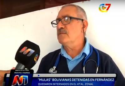 Capsuleros fueron descubiertos en Fernández con cerca de 10 kg de droga