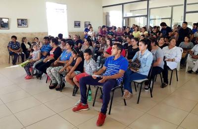 40 familias de Beltrán fueron beneficiadas con viviendas del IPVU