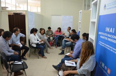 La Ministra Nassif se reunió con las autoridades de los pueblos originarios