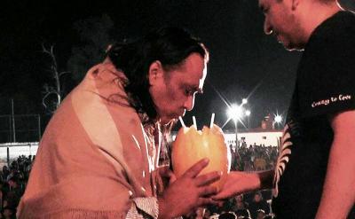Galleguilló deleitó en el festival del melón