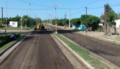 Inician un plan de mejora de calles en la localidad de Taboada