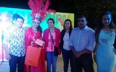 Las calles de La Cañada se vistieron de fiesta para celebrar el carnaval