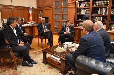 El Gobernador mantuvo una reunión por el Plan Belgrano